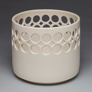 Small Demi-Lace Cylindrical Bowl