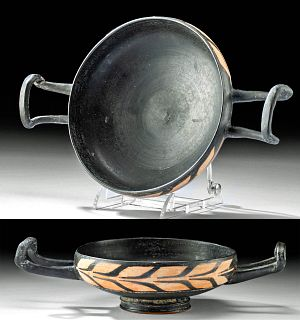 Greek Xenon Pottery Kylix
