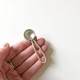 Single Small Spoon Medium Looped Handle