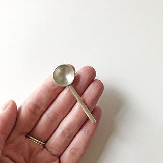 Single Small Spoon Small Rod Handle