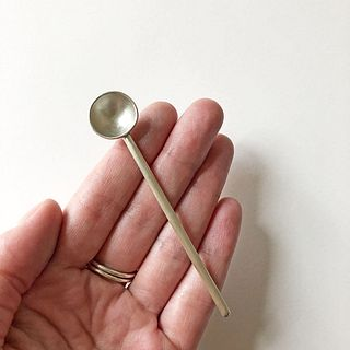 Single Small Spoon Small Long Rod Handle