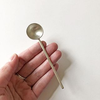 Single Small Spoon Large Long Rod Handle