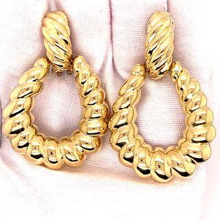 18K Gold 70Õ EarringsÊ