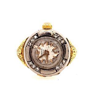 UNIVERSAL 18k Ring WatchÊ