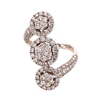 18k Diamond Rosettas RingÊ