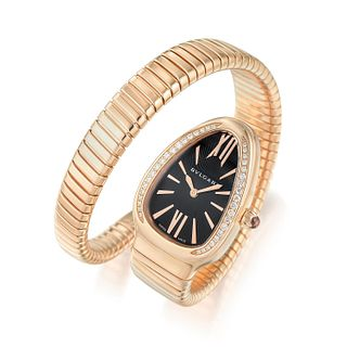 Bulgari Serpenti Tubogas in 18K Rose Gold