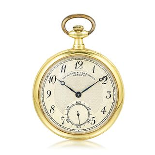 Vacheron & Constantin Pocket Watch in 18K Gold