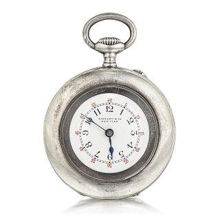 Tiffany & Co. Pocket Watch in Sterling Silver