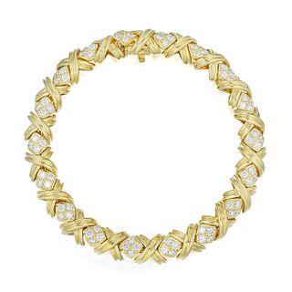 Tiffany & Co. Signature X Diamond Bracelet