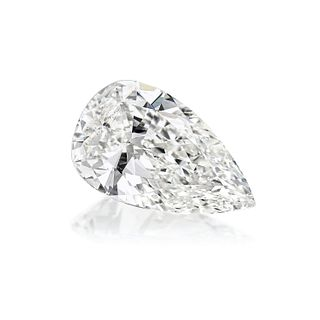 2.08-Carat Pear Brilliant-Cut Loose Diamond, G/SI2