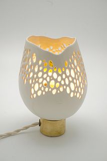 Small Lacy Lamp