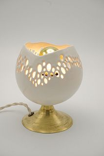 Small Mod-Lace Lamp White