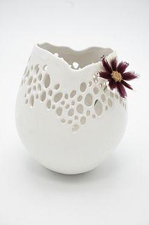 Small Pierced Vase