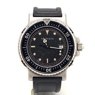 TIFFANY & CO Grand S Steel Watch