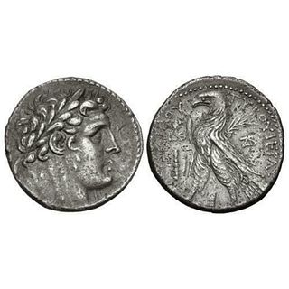 Ancient PHOENICIA, Tyre. 126/5 BC-AD 65/6. Silver Shekel