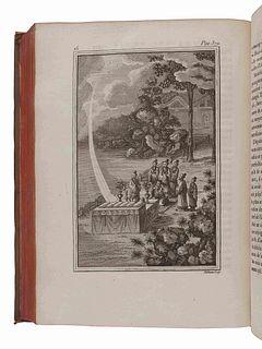 AMIOT, Joseph Marie (1718-1793), and others. Memoires concernant l 'histoire, les sciences, les arts, les meurs, les usages, &c. des chinois: par les