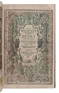 [ENGLISH LITERATURE & HISTORY]. A group of 5 works, comprising: