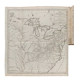 IMLAY, Gilbert (ca 1754-1828). A Topographical Description of the Western Territory of North America. London: J. Debrett, 1793.