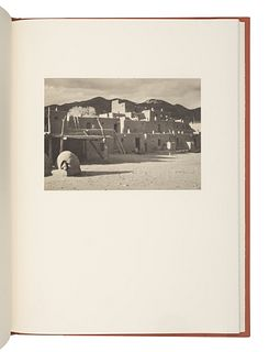 ADAMS, Ansel (1902-1984). -- AUSTIN, Mary (1968-1934). Taos Pueblo. Boston: New York Graphic Society, 1977.
