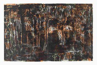 DUBUFFET, Jean (1901-1985). -- GUILLEVIC, Eugene (1907-1997). Elegies. Paris: Le Calligraphe, 1946.