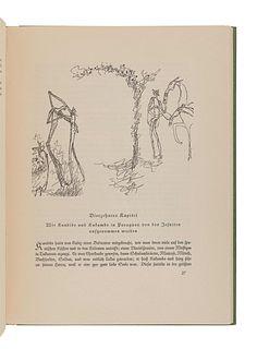 KLEE, Paul (1879-1940), illustrator. -- VOLTAIRE, Francois Marie Arouet de (1694-1778). Kandide, oder Die beste Welt. Munich: Kurt Wolff, [1920].