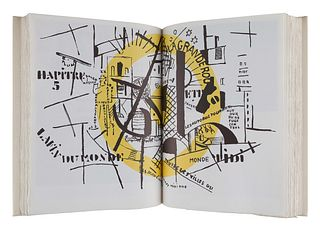 [LEGER, FERNAND (1881-1955)]. Fernand Leger: Sa vie, son oeuvre, son reve. Milan: Edizioni Apollinaire, 1971.