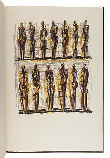 MOORE, Henry (1898-1986). Heads, Figures and Ideas. London and Greenwich, CT: George Rainbird, New York Graphic Society, 1958.