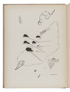 TANGUY, Ives (1900-1955). -- BRETON, Andre (1896-1966). Yves Tanguy. New York: Pierre Matisse Editions, 1946.