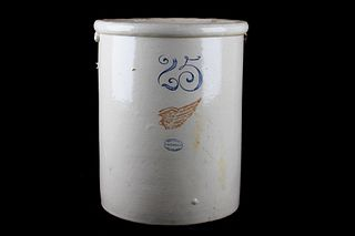 Red Wing Stoneware Large Crock 25 Gallon