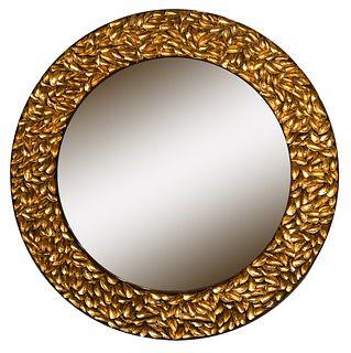 Thomas Boog Round Mussel Seashell Mirror