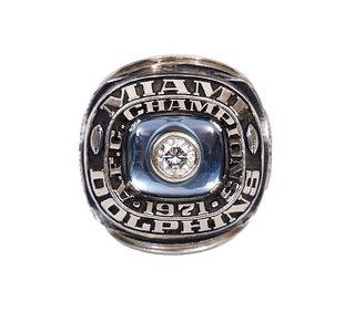 Miami Dolphins 1971 AFC Champion Ring