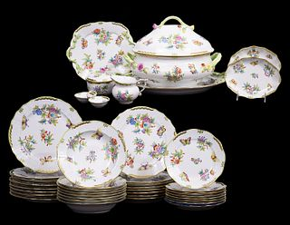 41 Pcs. Herend Queen Victoria China