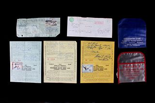 Montana Game Bird & Fishing License Collection