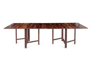 After Bruno Mathsson Mid 20th Century Expanding Dining Table