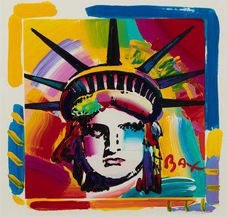 Peter Max (American, b. 1937) Liberty-Panel B #2
