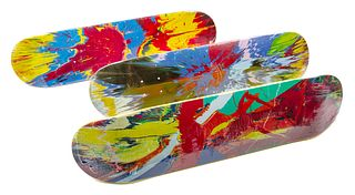 Damien Hirst (British, b. 1965) Supreme Skate Decks