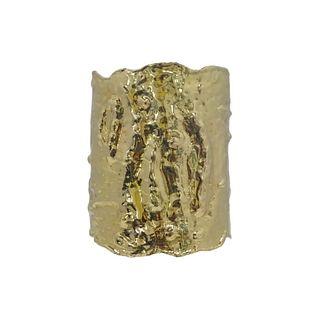 """Van Cleef & Arpels Yellow Gold """"Manchette"""" Cuff"""