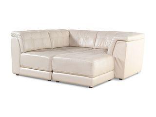 Modern 20th/21st Century  Four-Piece Sectional Sofa
