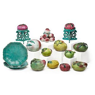 CHINESE EXPORT PORCELAIN FRUIT