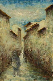 Ottone Rosai (Firenze 1895-Ivrea 1957)  - Untitled, 1945