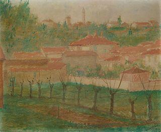 Pio Semeghini (Quistello 1878-Verona 1964)  - Untitled, 1938