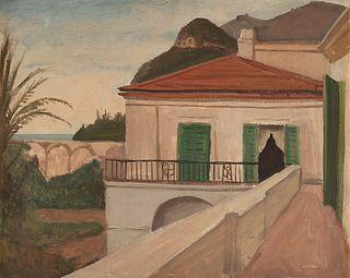Pompeo Borra (Milano, 1898-1973)  - Litorale campano, 1934-36