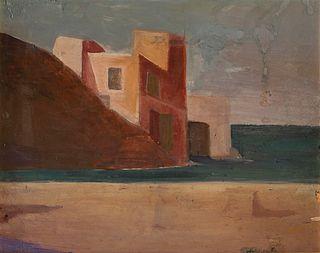 Pompeo Borra (Milano, 1898-1973)  - Capri, 1940
