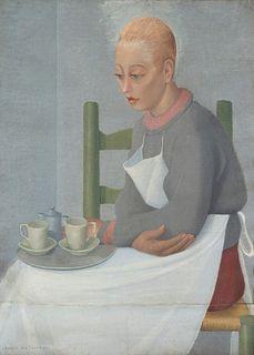 Antonio Calderara (Abbiategrasso 1903-Lago d'Orta 1978)  - Carmela, 1938