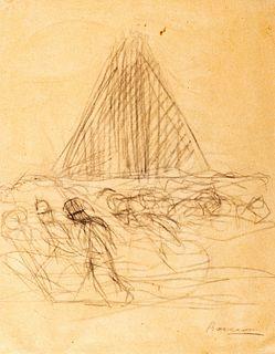 Umberto Boccioni (Reggio Calabria 1982-Verona 1916)  - Study for La città che sale, 1910