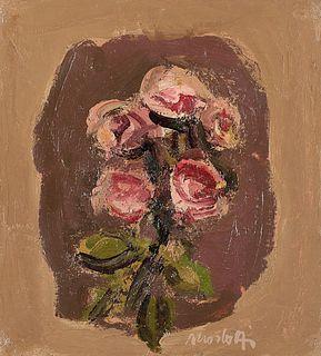 Ennio Morlotti (Lecco 1910-Milano 1992)  - Rose, 1964