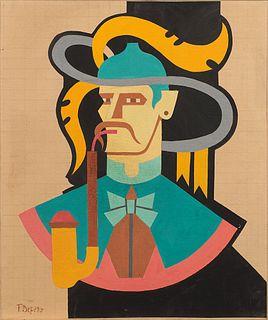 Fortunato Depero (Fondo 1892-Rovereto 1960)  - Untitled,  1938/40