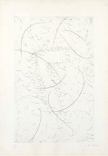 Lucio Fontana (Rosario 1899-Varese 1968)  - Il 7 magnifico, 1968