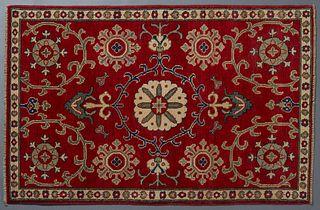 Uzbek Hotan Carpet, 3' 2 x 5'.