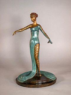 "Erte Bronze, ""La Merveilleuse"""